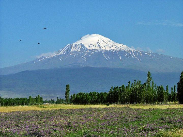 O pico mais alto da Turquia - O Monte Ararat