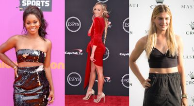 Check Out Your Favorite Female Athletes Bringing Their A Game To The Red Carpet
